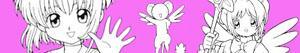 ausmalbilder Card Captor Sakura malvorlagen
