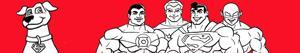 ausmalbilder Super Friends malvorlagen