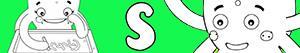 ausmalbilder Mädchennamen mit S malvorlagen