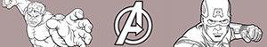 ausmalbilder Avengers. Die Rächer malvorlagen